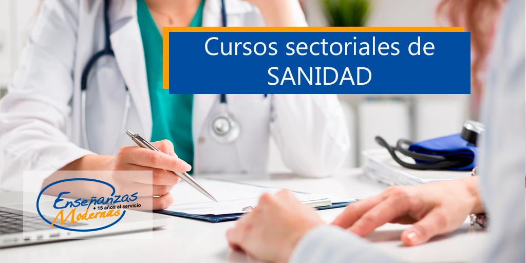 cursos sectoriales de sanidad