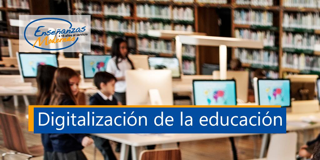 digitalización de la educación