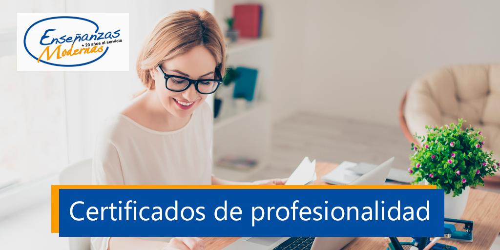 certificado de profesionalidad gratis