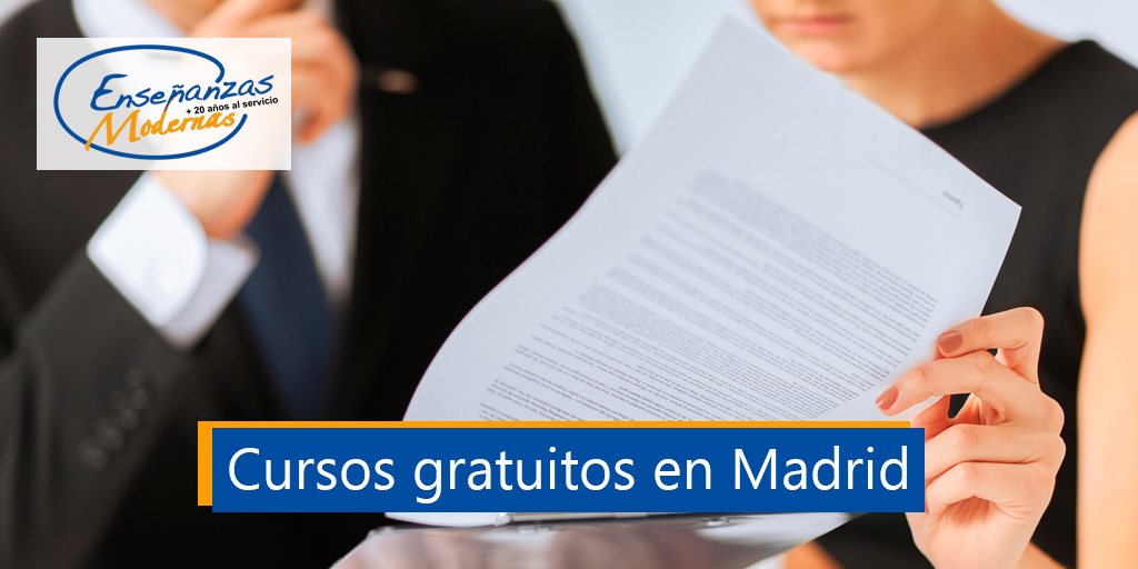 cursos gratuitos en Madrid